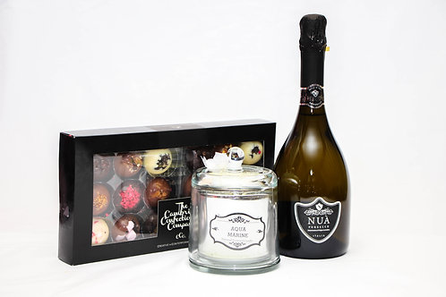 Mother's Day Prosecco, Chocolates & Candle
