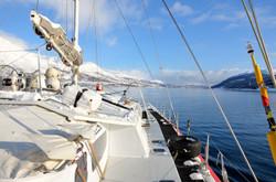Sail ski drream-alps