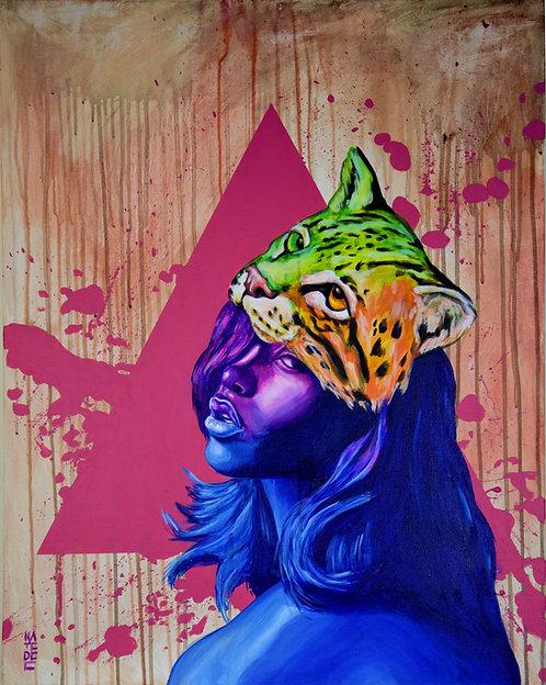 Hypercolor Ocelot by Nate Dee