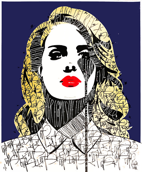 Lana Del Rey by Pure Evil