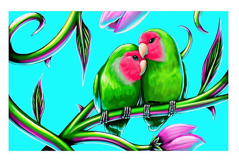 Love Birds by Ivan Roque