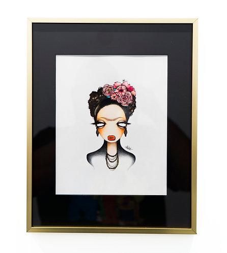 Frida Kahlo by Amanda Valdes