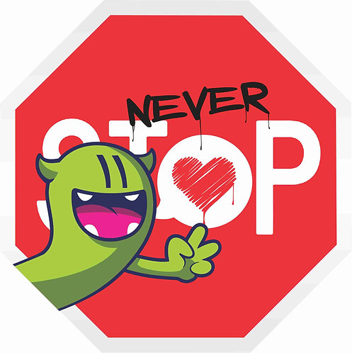 Never Stop Loving Cut Out by Golden
