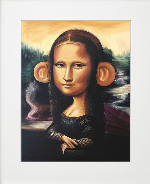 Mona Lisa Big Ears by Sipros