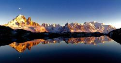 De l'aiguille Verte au Mont-Blanc