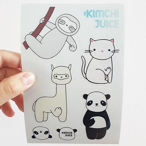 Sticker Sheet by Kimchi Juice