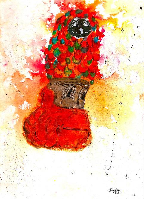 Owl Head by Ramiro Davaro Comas