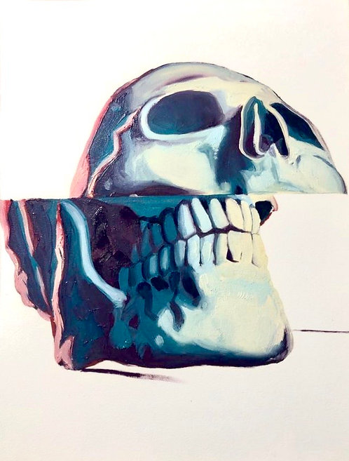Skull #2 by Dustin Spagnola