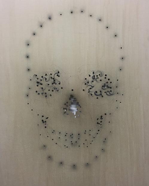 Bullet Skull by Noah Scalin