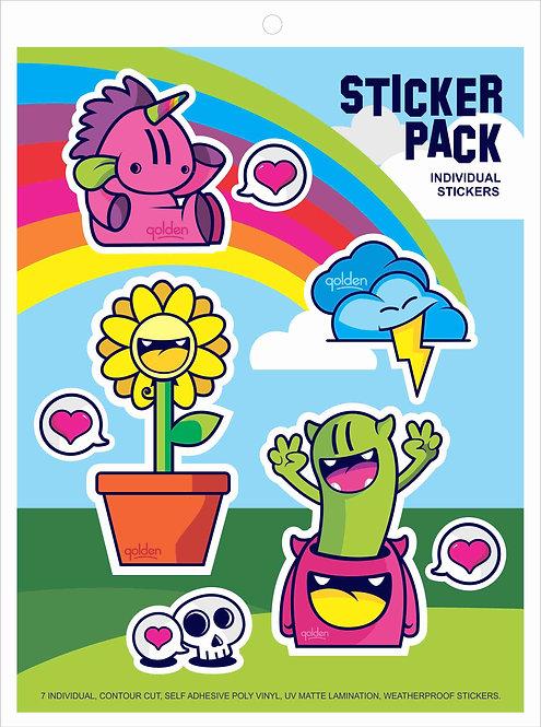 Sticker Sheet by Golden