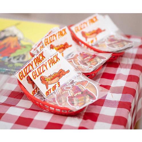 Glizzy Sticker Pack by Fondue