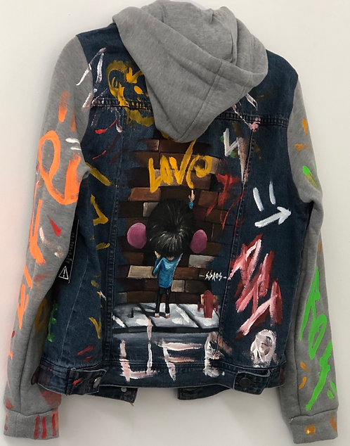 Hand-Painted Jacket by Sipros