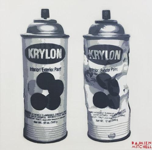 Krylon Can by Damien Mitchell