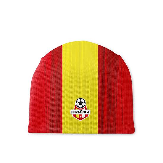 Czapka sportowa żółto-czerwona