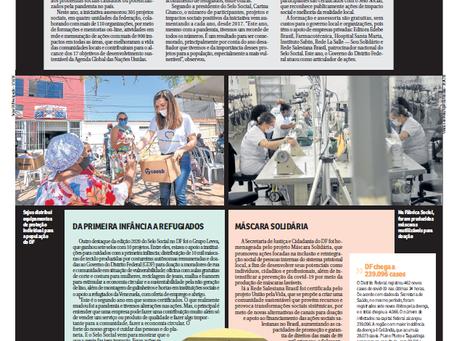 Correio Braziliense: Reconhecimento pelo impacto social