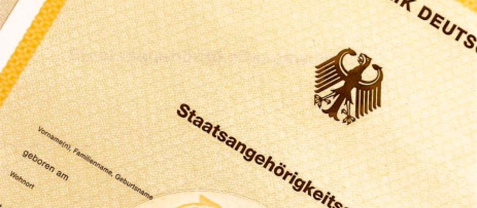 Certificado de Cidadania Alemã passa a custar 51 euros