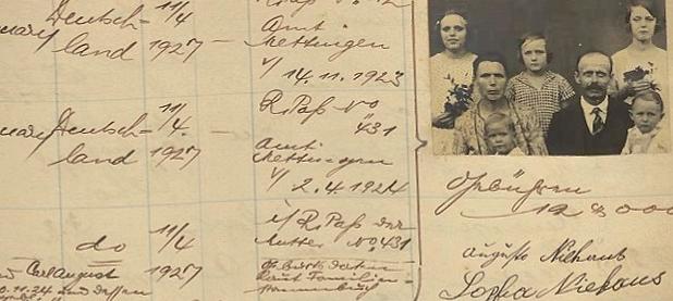 Passaportes Alemães emitidos entre 1895 e 1942 em Consulados da Alemanha no Brasil
