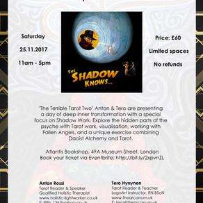 Shadow Work workshop coming up!