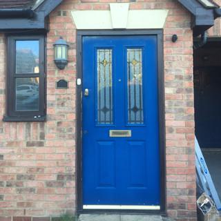 Front Door Before