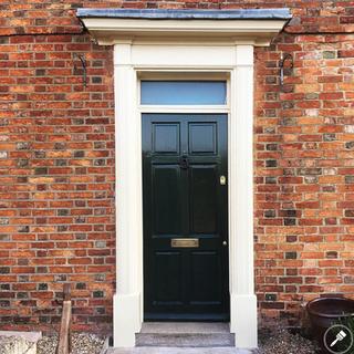 Newport Pagnell Door After