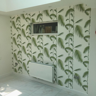 Garden Room Feature Wall