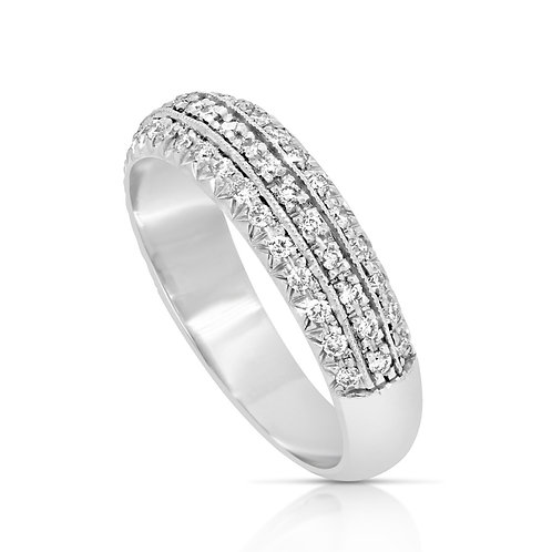 Diamond Engagement Wedding Band