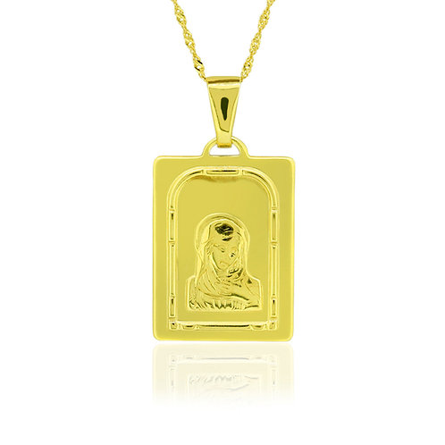 Holy Mary Baptism Pendant