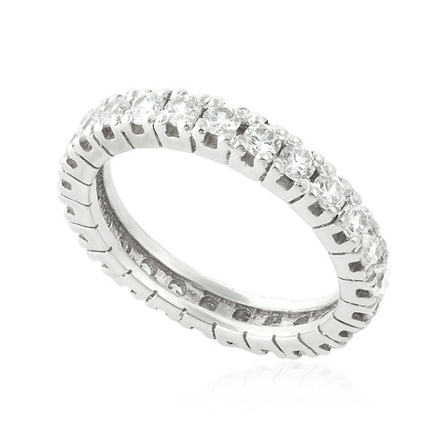 Vintage Prong Eternity Classic Ring