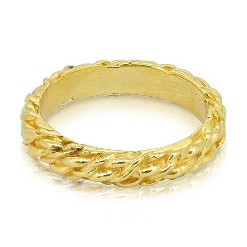 Handmade Oriental Golden Twisted Snake