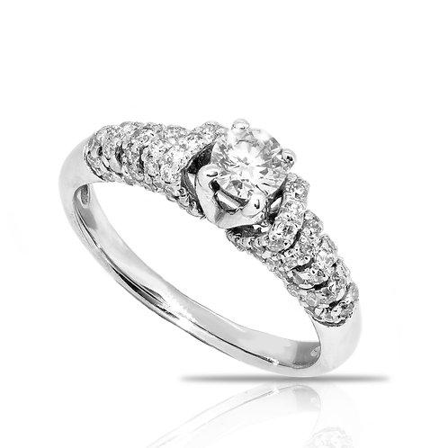 Wave Chain Diamond Anniversary Gift