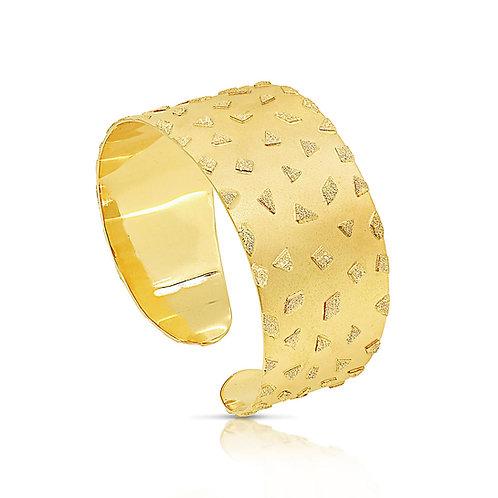 Open Bangle, Oriental Stars Bracelet