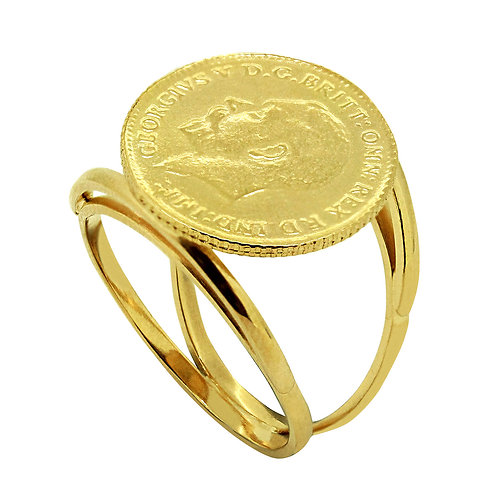 light Shank Traditional Coin Ring