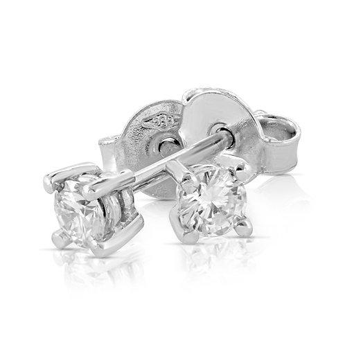 Dressy Delicate Diamond Earrings
