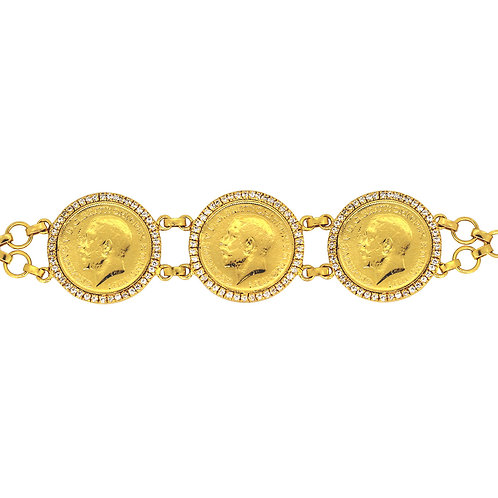 King George Sovereign Bracelet