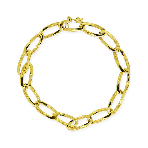 Gourmet Bracelet, Casual Chain Link