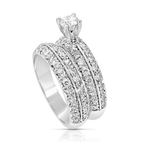Classic French Setting Diamond Set