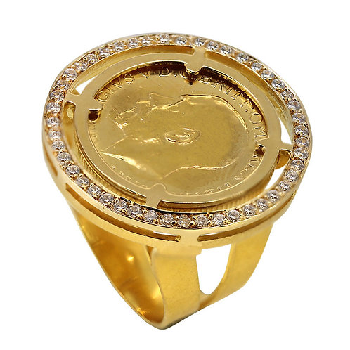 Double frame High Shank Ring