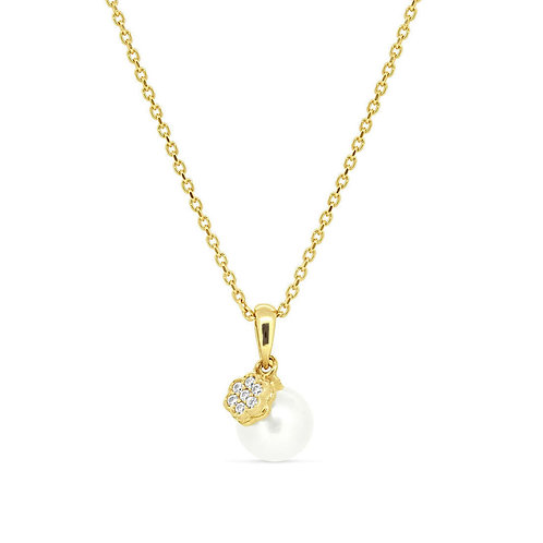 Gold Spring Flower Casual Pendant