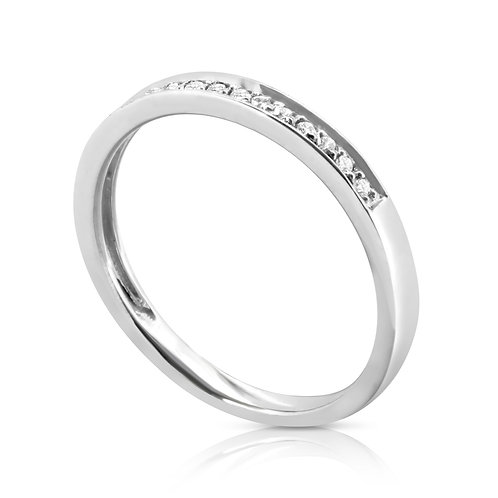 Smooth Elegant Bridal Diamond Ring