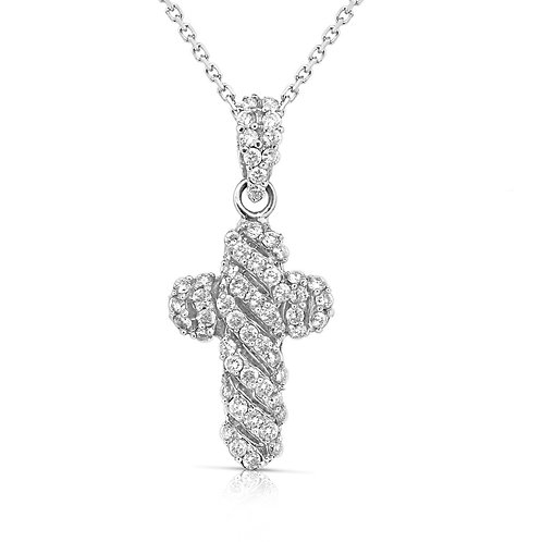 Thick Rounded Cross Diamond Stripes