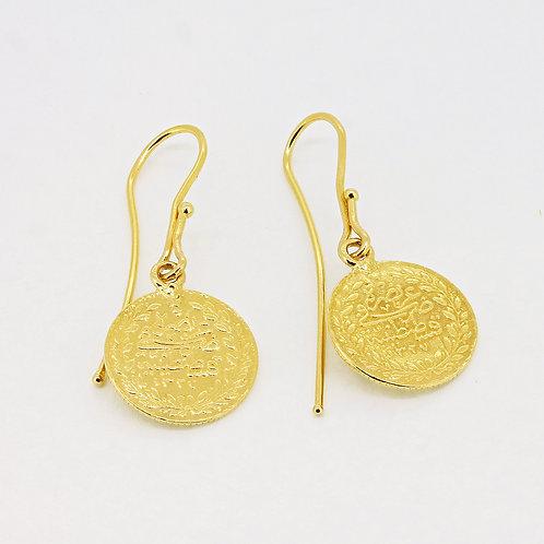 Traditional light Shank Ottoman Earrings