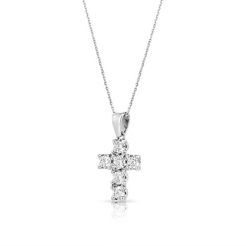 Diamond Cross Pendant Chain
