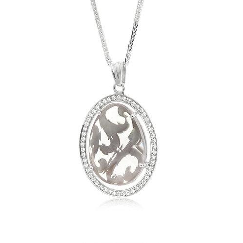 Diamond Nature Gem Stone Pendant