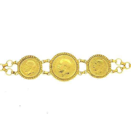 King George Sovereign Bracelet
