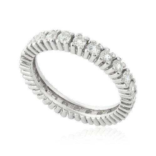 Classic Eternal Prong Wedding Ring