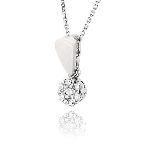 Home nazareth kattouf jewellery pave diamond pendant flower pave diamond pendant flower aloadofball Images