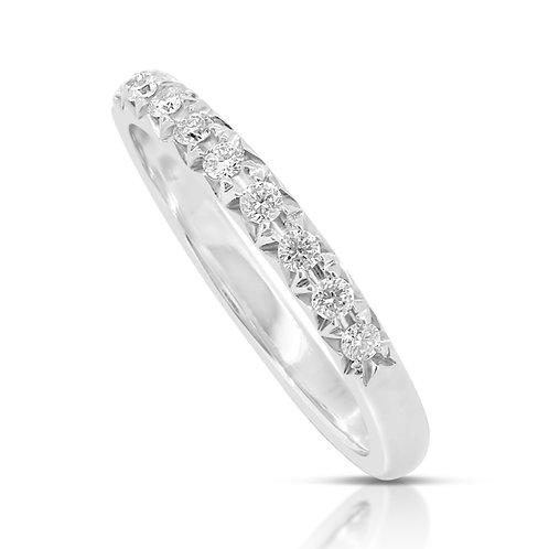 Diamond Engagement Wedding Band