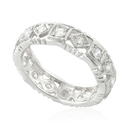 Vintage Classic Squared Marquise Ring