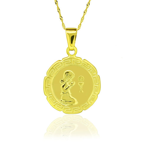Baptism Young Jesus Pendant
