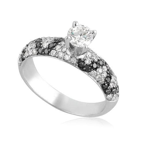 Black Diamond Snake, Unique Ring
